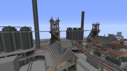 Pre-WWII Blast Furnaces (Design #2) Minecraft Project