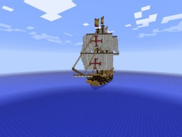 Spanish Galleon La Madre Salles Minecraft Project
