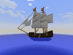 Spanish brig El Destemido Minecraft Project