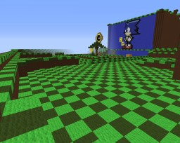 sonic the hedgehog hg map nice for small game with yo mates Minecraft Map & Project