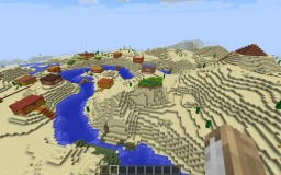 Adobe Styled Village +Mayan Temple [1.8.8] Minecraft Map & Project