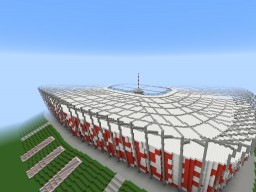 PGE Narodowy (The National Stadium Warsaw Poland) Minecraft Map & Project