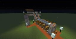 Automatic Smeltery Idea Minecraft
