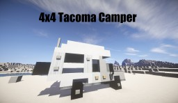 Custom Tacoma Camper - 2015 Minecraft Project