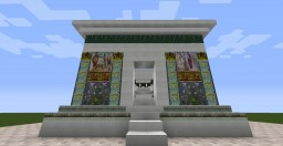 Ara Pacis Minecraft Map & Project