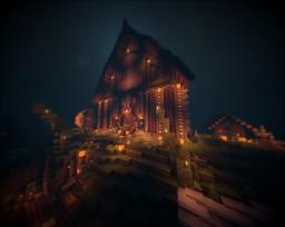 Halloween Maison Minecraft Map & Project