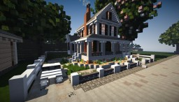 Traditional Farmhouse style house | CC Minecraft Map & Project
