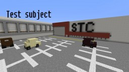 Test subject Minecraft Map & Project