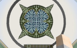 Stain Glass Floor - Princess Sarah Minecraft Map & Project