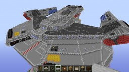 Rapier Class – Star Trek Starship (WIP) Minecraft Project