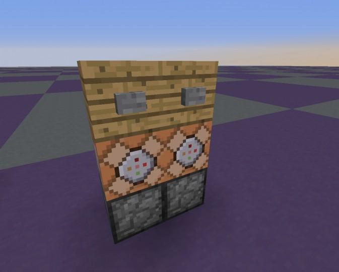 Custom Crafting Table Command Blocks