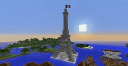 13/11/15 Paris Attack Tribute #PrayForParis Minecraft Project