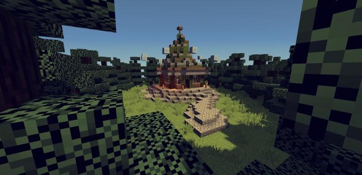 Wizards House   Dark Forest Minecraft Map