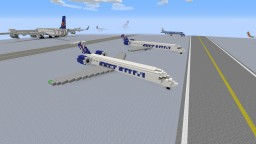 Embraer ERJ Series Minecraft Map & Project
