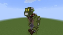 Plants vs zombies 1&2 bosses Minecraft Project