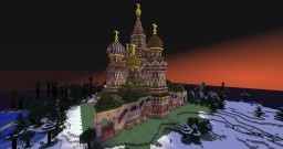 St Vasily's Cathedral, Moscow (aka St. Basil's) Minecraft Project