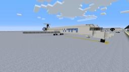 Alienware Intl Airways ERJ 145 Minecraft Project