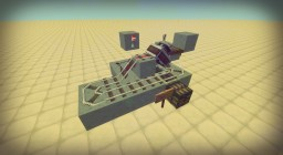 Minecart Unloading Station - Unload Minecarts w/ Chests Minecraft Map & Project