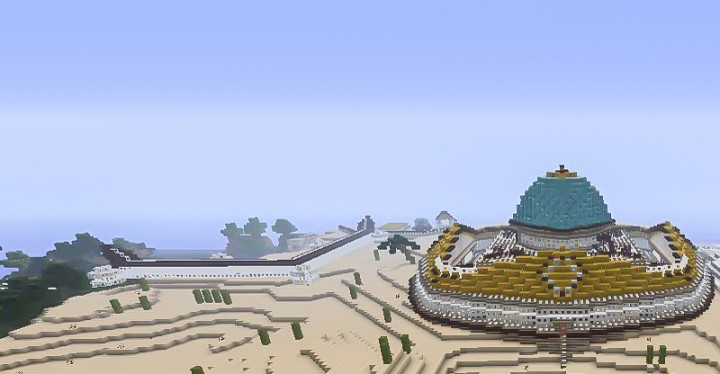 Oriental Palace Minecraft Project