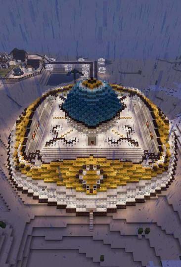 Oriental Palace Minecraft Project