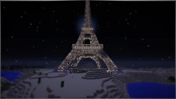 Eiffel Tower #PrayForParis Minecraft