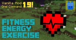Fitness, Energy, and Health | 1.9+ | One Command Installation | Minecraft Map & Project