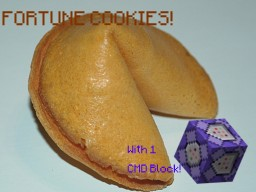Fortune Cookies in Vanilla Minecraft [MC 1.9] Minecraft Map & Project