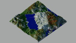 The Tricolour Mountain: France Minecraft Project