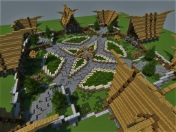 Medieval Spawn/Hub Minecraft Project