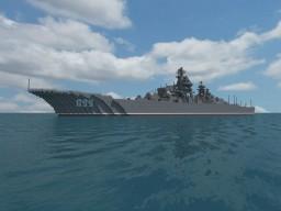 Kirov-Class (Battlecruiser) + Schematic Minecraft Map & Project