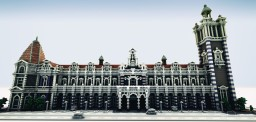 Dunedin Railway Station Minecraft Project
