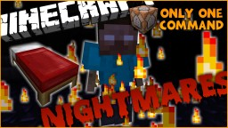 Nightmares in One Command l Have Nightmares When You Sleep! Minecraft Project