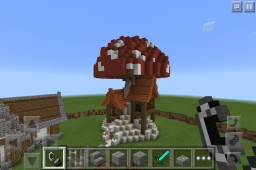 Mushroomatic House - Pocket Edition Minecraft Map & Project