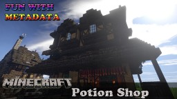 Medieval Potion Shop Minecraft