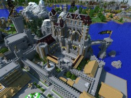 The Kingdom of MiHeav Minecraft Map & Project