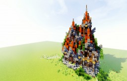 Fantasy House Minecraft Project