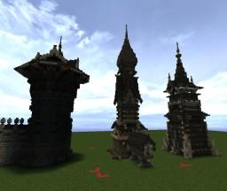Slavic Medieval Folk Style Minecraft Project