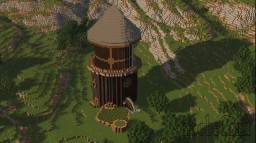 Minecraft: Rotating Fantasy Tower (video) Minecraft Map & Project