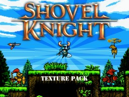 Shovel Knight Pack 1.10.X Minecraft Texture Pack