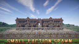 Wood/Stonebrick Themed Small Faction Spawn Minecraft Map & Project