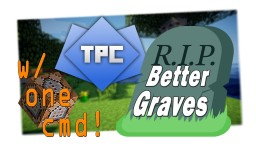 Better Graves in ONE COMMAND!!! Minecraft Project
