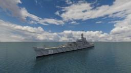 USS Missouri Battleship - BB 63 [1:1 Scale] 270 Blocks Long Minecraft Map & Project