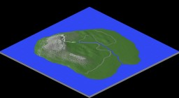 A small island Minecraft Map & Project