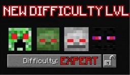 NEW DIFFICULTY ADDED : EXPERT ! Minecraft Map & Project