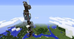 Steampunk tower Minecraft Map & Project
