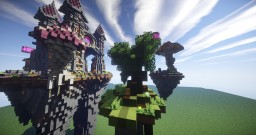 Skywars Map | Built by Team Sublis | For The Carnage Network Minecraft Map & Project