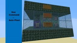 (One Command)Auto Plant - Minecraft Vanilla mod 1.9 Minecraft Map & Project