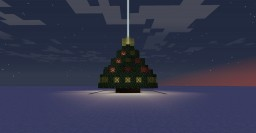 advent-ure 2015 twinkling light tree beacon Minecraft Map & Project