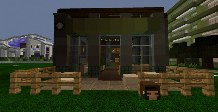 Starbucks by Mofoty86 at Warlords Outpost on Brunos Realm play.brunosrealm.com