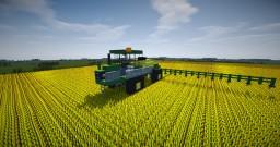 Vehicle - John Deere Crop Sprayer Minecraft Map & Project